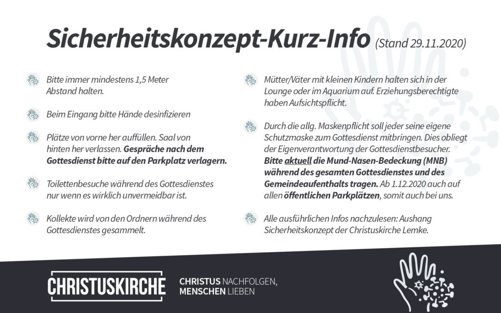 Sicherheitskonzept Christuskirche Lemke e.V.